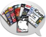 Vielzahl von Foto-Magazinen