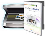 Scanner and SilverFast Software Box