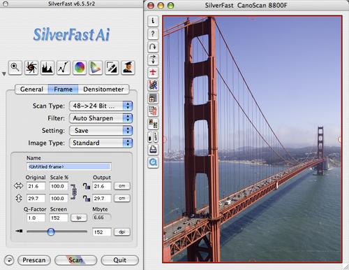 SilverFast screenshot